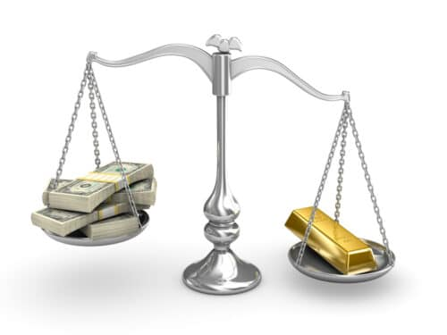 Gold as an investment beats the US dollar in its ability to retain purchasing power.